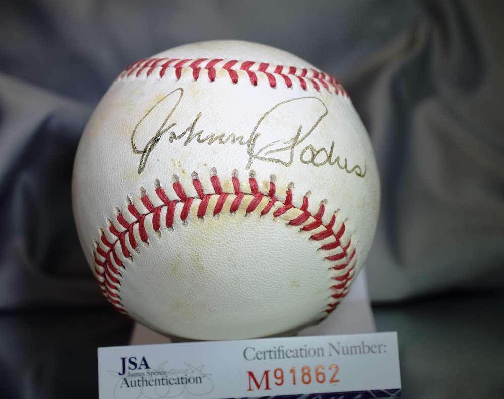 Johnny Podres Autographed Signed Memorabilia Baseball Auto Certified Authnetic JSA
