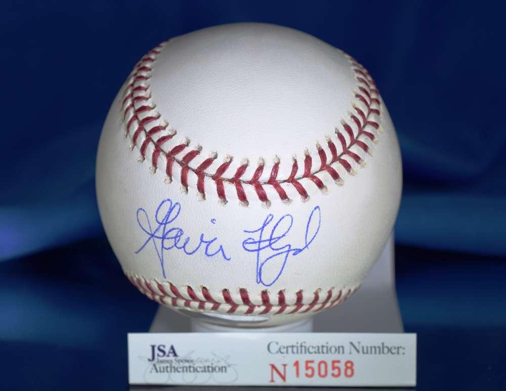Gavin Floyd Jsa Certed Major League Autograph Baseball Authenticated Signed