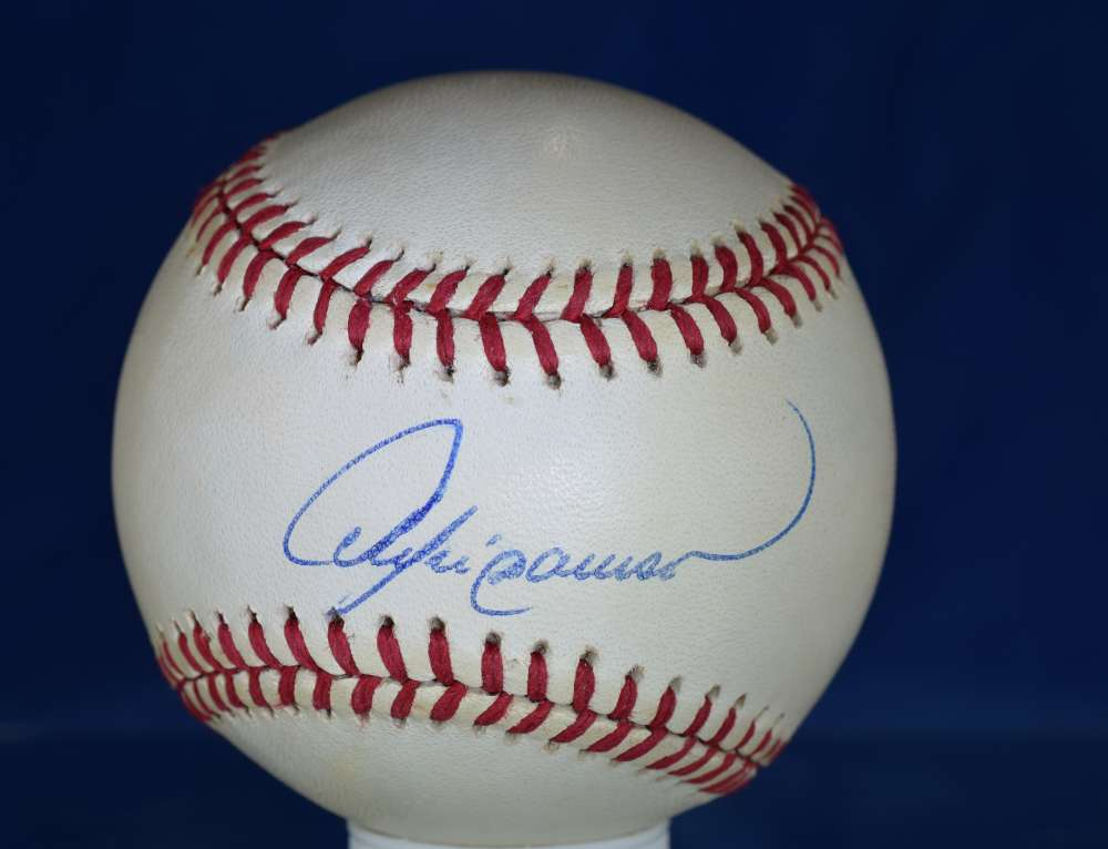 Andre Dawson Psa/dna Certified National League Autograph Signed Baseball Authenticated