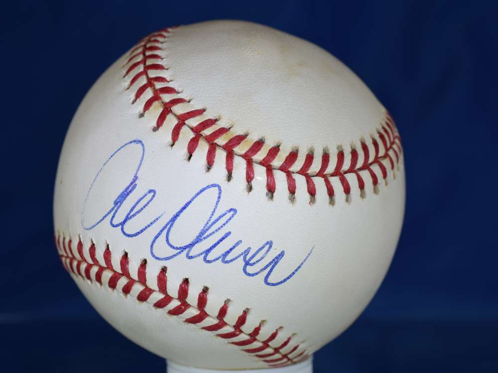 Al Oliver Psa/dna Certified National League Autograph Signed Baseball Authenticated