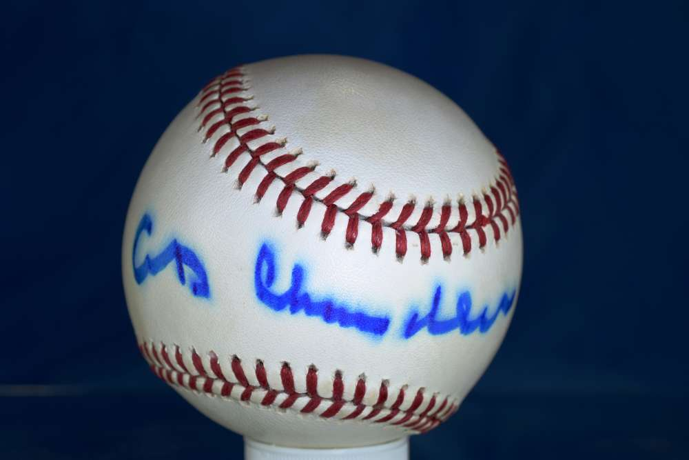 Ad Happy Chandler Psa/dna Signed American League Baseball Authenticated Autograph