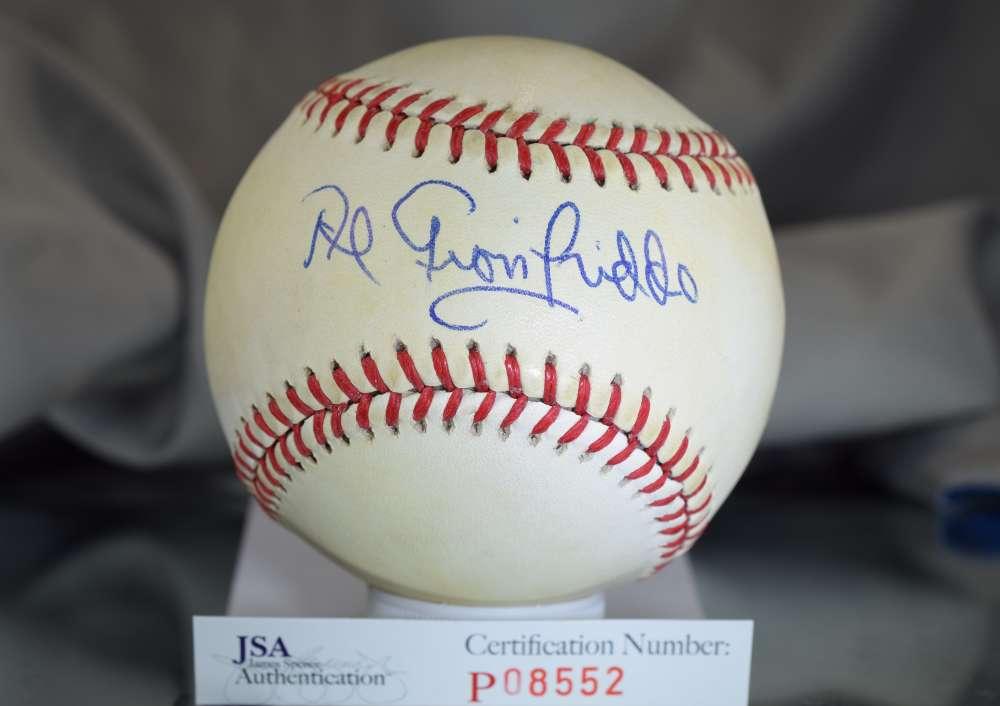 Al Gionfriddo Jsa Signed National League Baseball Autograph Authentic