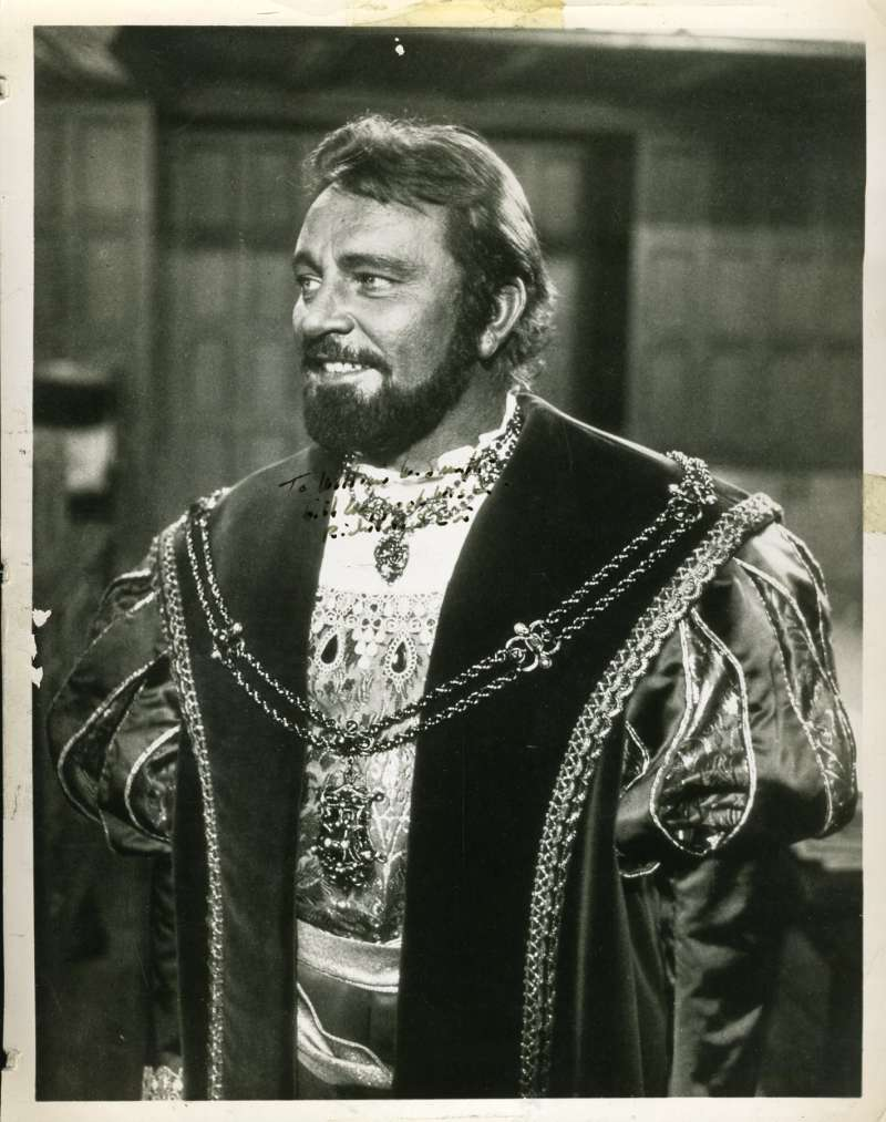 Richard Burton Jsa Coa Hand Signed 8x10 Photo Authenticated Autograph