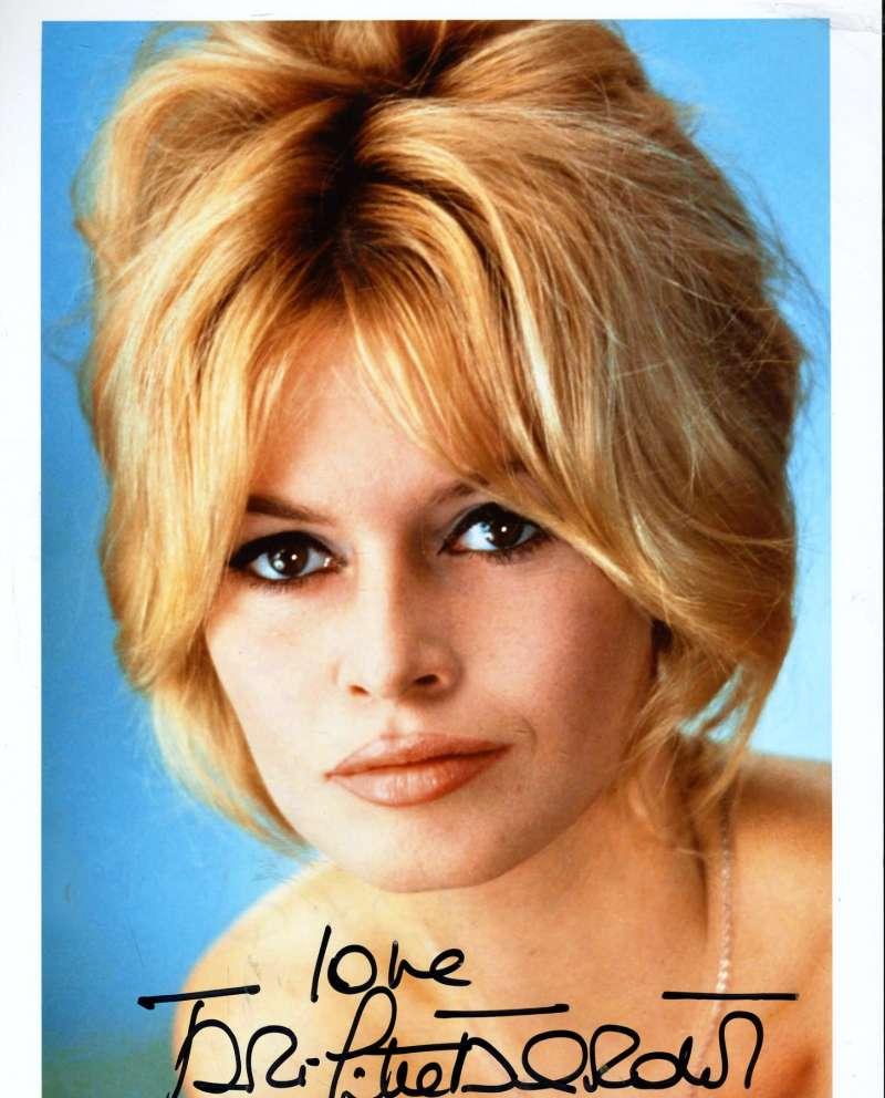 Brigitte Bardot Jsa Certed Autograph 8x10 Hand Signed Photo Authenticated