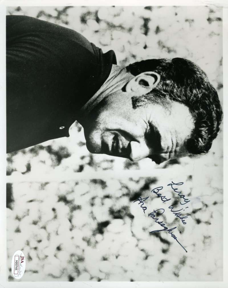 Ara Parseghian Jsa Coa Autograph 8x10 Photo Hand Signed Authentic