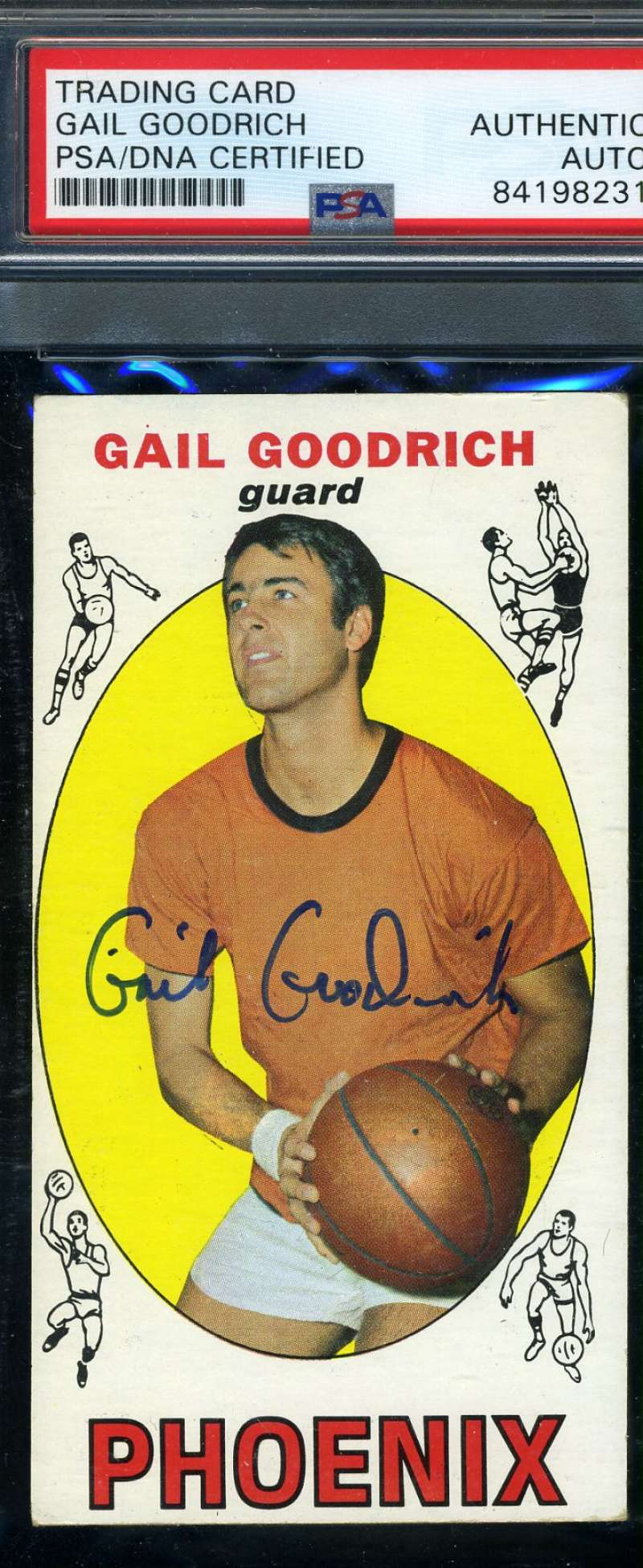 GAIL GOODRICH 1969 70 Topps Rookie PSA DNA Coa Autograph Hand Signed