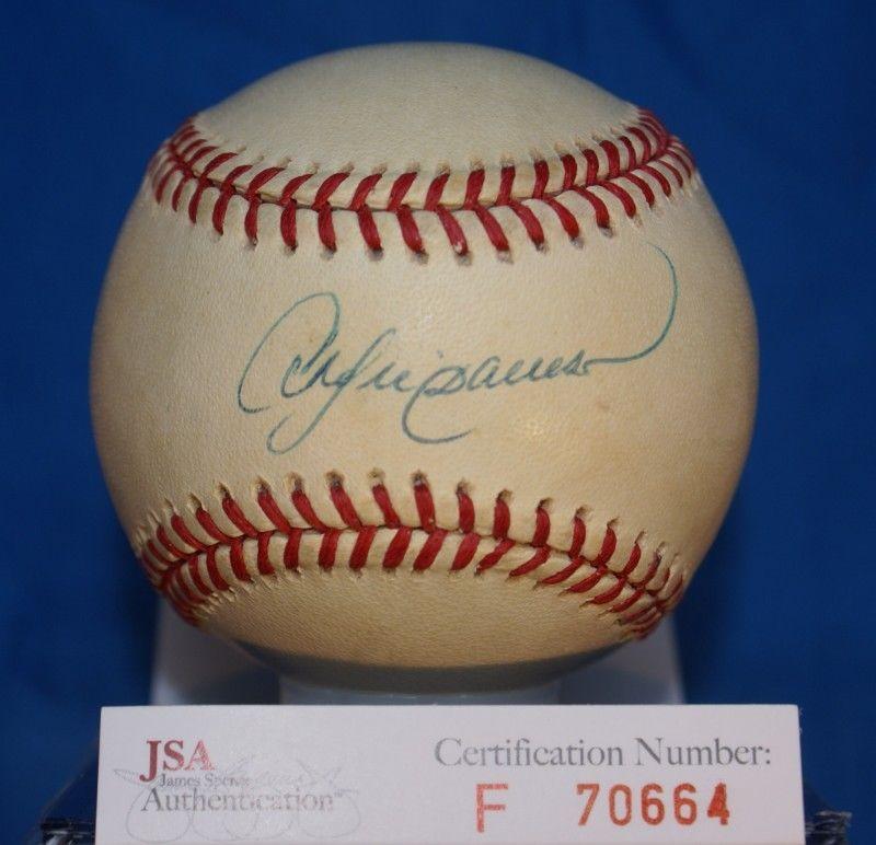 Andre Dawson Jsa Cert Autograph National League Baseball Authentic Signed