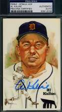 Al Kaline Psa/dna Coa Perez Steele Authentic  Hand Signed Autograph