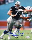 Howie Long Psa Dna Coa Autograph 8x10 Raiders Photo  Hand Signed Authentic