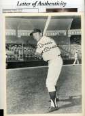Mickey Mantle Jsa Loa Autograph 8x10 Photo  Hand Signed Authentic