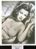Gene Tierney PSA DNA Coa Hand Signed 8x10 Photograph Autograph