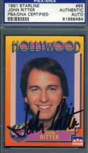 John Ritter PSA DNA Coa Signed 1991 Starline Hollywood Autograph