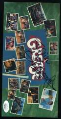 Olivia Newton John JSA Coa Signed Grease CD Foldout Autograph