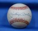 Mickey Mantle JSA Coa Autograph American League OAL Hand Signed BasebaLL