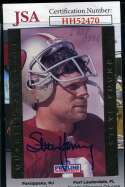 Steve Young 1992 Proline Gold JSA Coa Autograph Authentic Hand Signed
