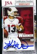 Kurt Warner 2006 Warner Collector Card JSA Coa Autograph Authentic Hand Signed