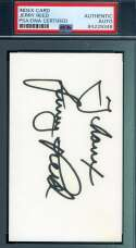 Jerry Reed PSA DNA Cert Signed 3x5 Index Card Autograph