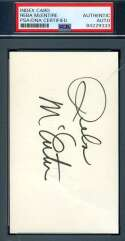 Reba Mcentire PSA DNA Coa Signed 3x5 Index Card Autograph
