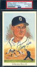 George Kell PSA DNA Coa Autograph Hand Signed Perez Steele Celebration Autograph